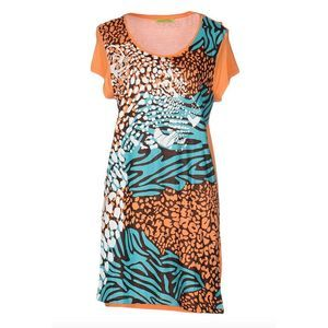 Versace Jeans sz M Cheetah Animal Print NWT $365
